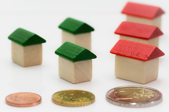 With a very low interest rate on real estate loans,